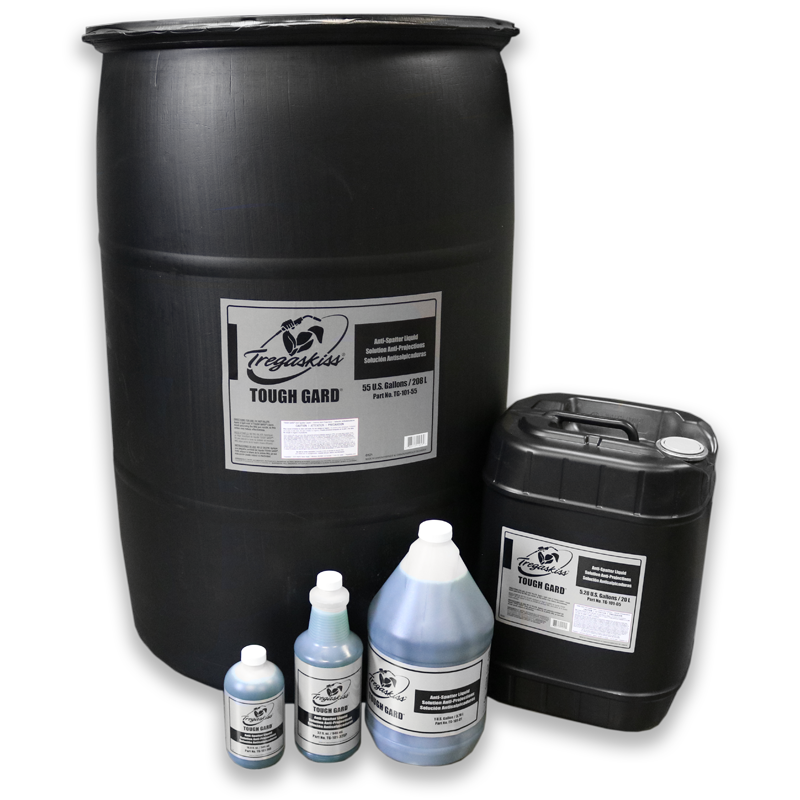 New 2021 TOUGH GARD anti-spatter liquid product family