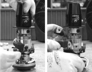 Remove single shunt using a 4mm Allen key