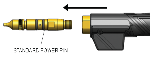 How To Install the AutoLength Pin, step 2