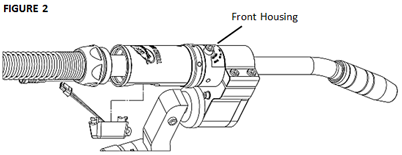 How To Replace the TOUGH GUN CA3 MIG Gun Unicable, figure 2