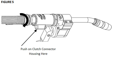 How To Replace the TOUGH GUN CA3 MIG Gun Unicable, figure 5