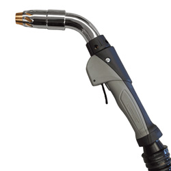 Clean Air Fume Extraction MIG gun with old chrome neck