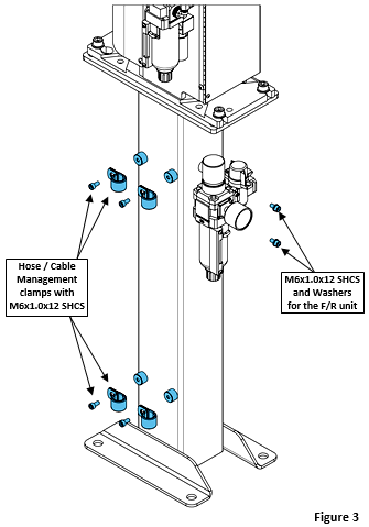 How To Install the TOUGH GUN™ Reamer Stand, figure 3