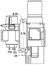 How To Install the Filter/Regulator Unit to the TOUGH GUN TT3 Reamer, figure 4