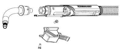 How To Install or Replace a Fixed Neck on a T Series Large Straight Handle BTB Platform Gun