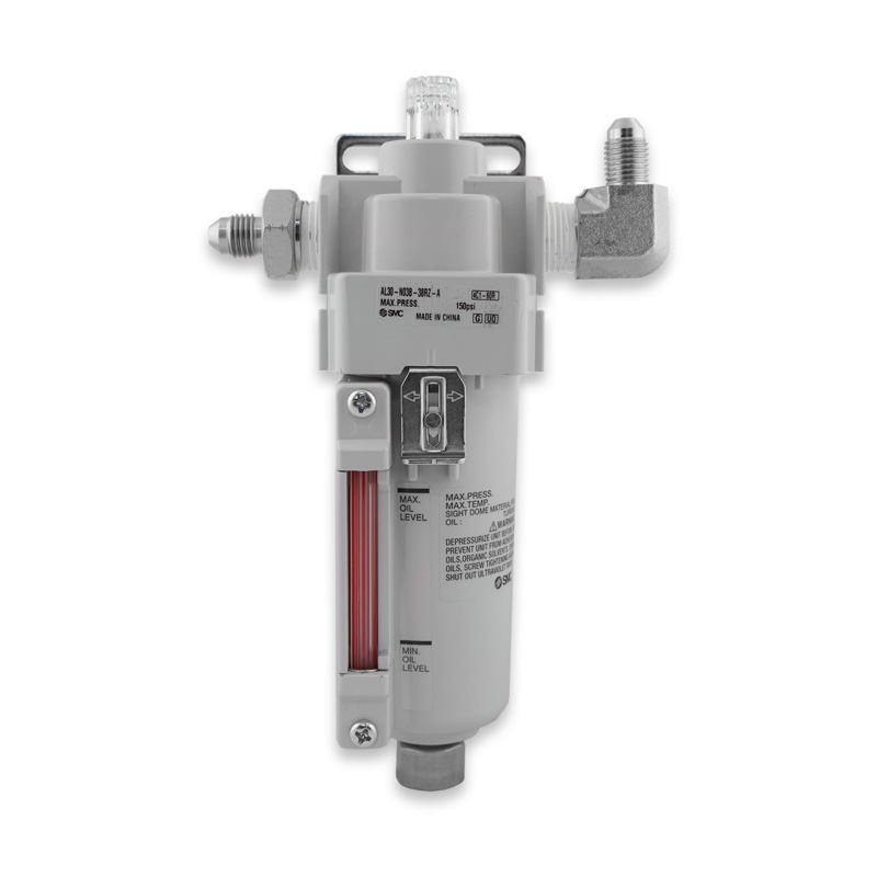 Lubricator shown from front