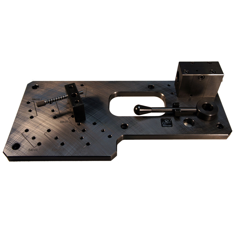 Image of a neck checking fixture