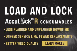 Learn more about AccuLock R consumables and how they reduce downtime, offer longer service life, and provide better weld quality