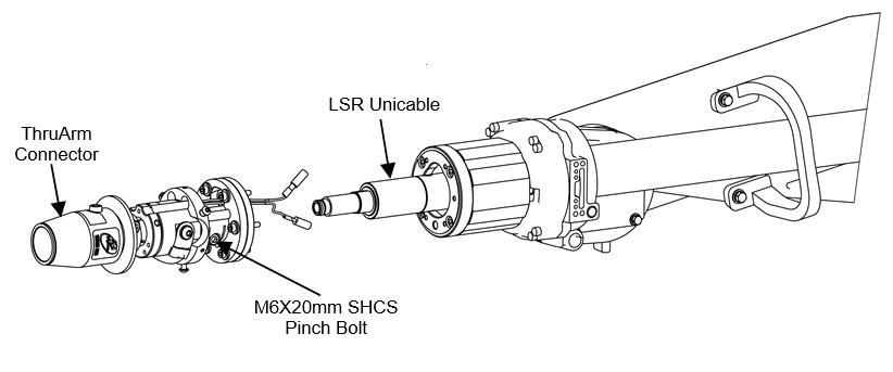 How To Install a TOUGH GUN™ TA3 MIG Gun on a Panasonic® Robot, step 2