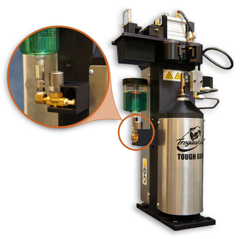 Image of TOUGH GUN TT3 Reamer with Electronic Check Valve and Mounting Bracket