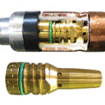 Image of a Thread-On Nozzle System featuring a TOUGH LOCK™ Retaining Head