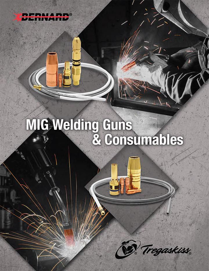 MIG Welding Guns & Consumables Catalog Cover - 2020