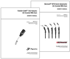 Tregaskiss and Bernard owner's manuals