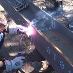Welding contractor shares benefits of Bernard Dura-Flux Self-Shielded Flux-Cored Gun | Customer Testimonial