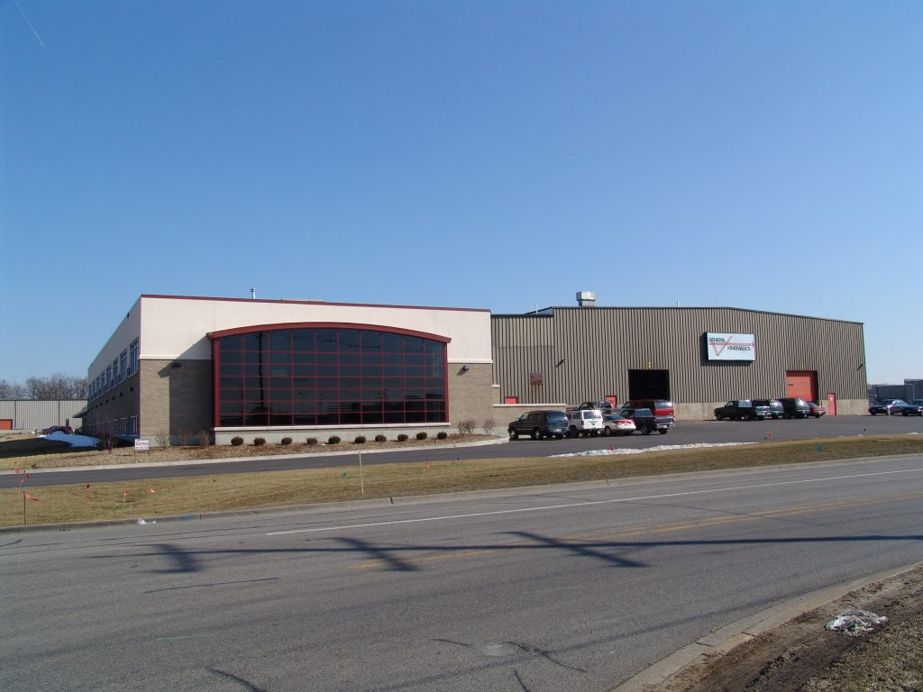 Image of the General Kinematics building in Crystal Lake, Illinois